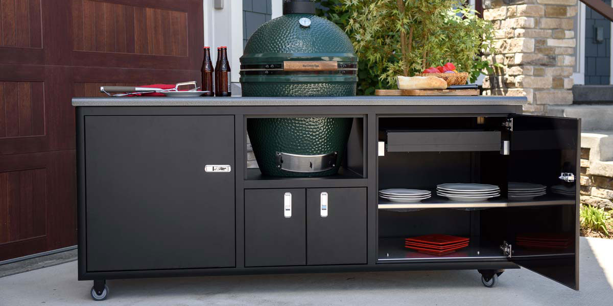 Big Green Egg Outdoor Cabinetry Storage