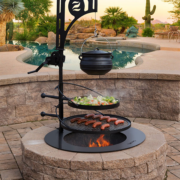 Fire Pit Grills Inserts